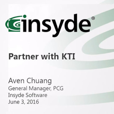 Insyde partner with KingTiger – press conference June 03, 2016